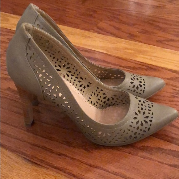 Restricted Shoes - Restricted Cutout Heels
